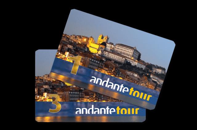 cartão andante tour porto